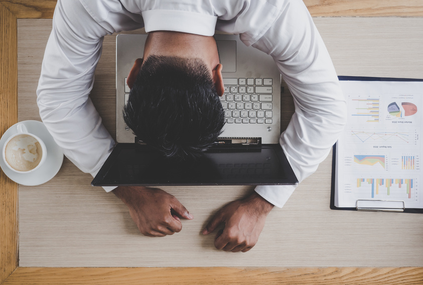 sleeplessness is not good for your business